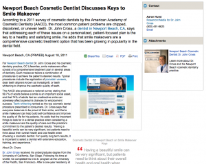 cosmetic, dentist, dentistry, smile, makeover, newport, beach, ca